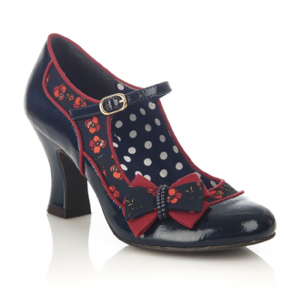 Ruby Shoo Camilla Navy Shoes